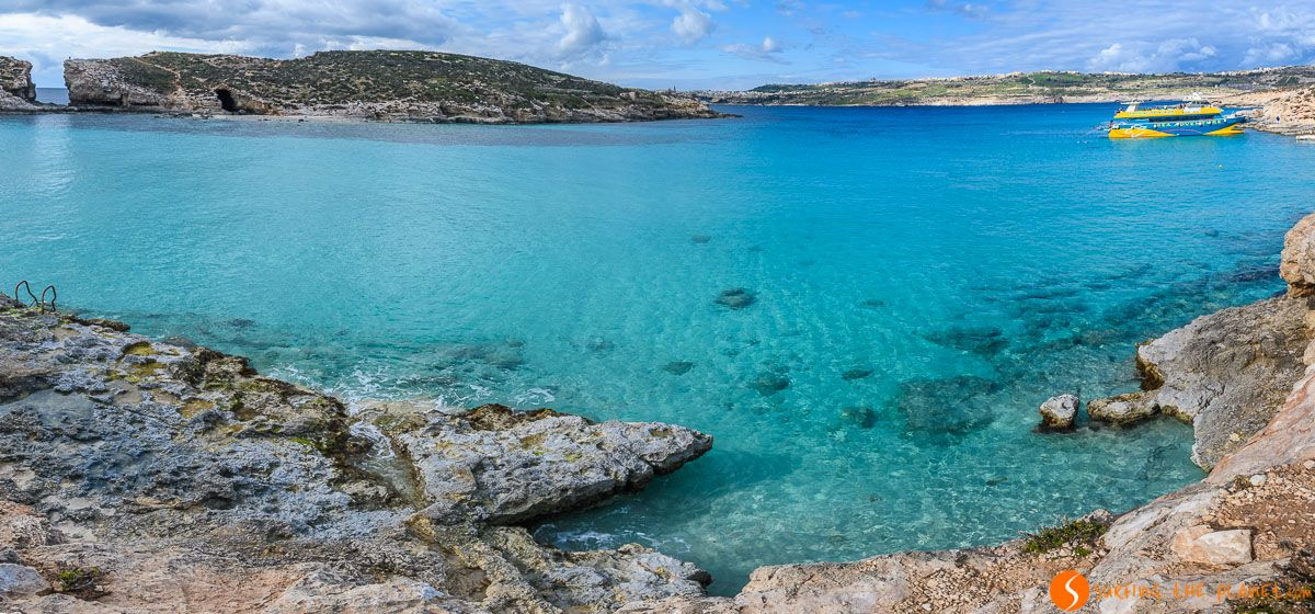 Panorama, Laguna Azul, Comino, Malta | 25 cosas que ver y hacer en Gozo en 3 días