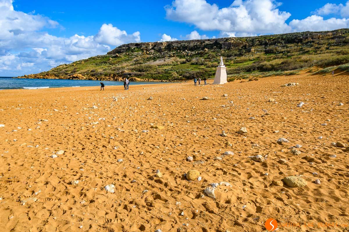 Ramla Beach, Gozo, Malta   Qué ver y hacer en Gozo en 2 días