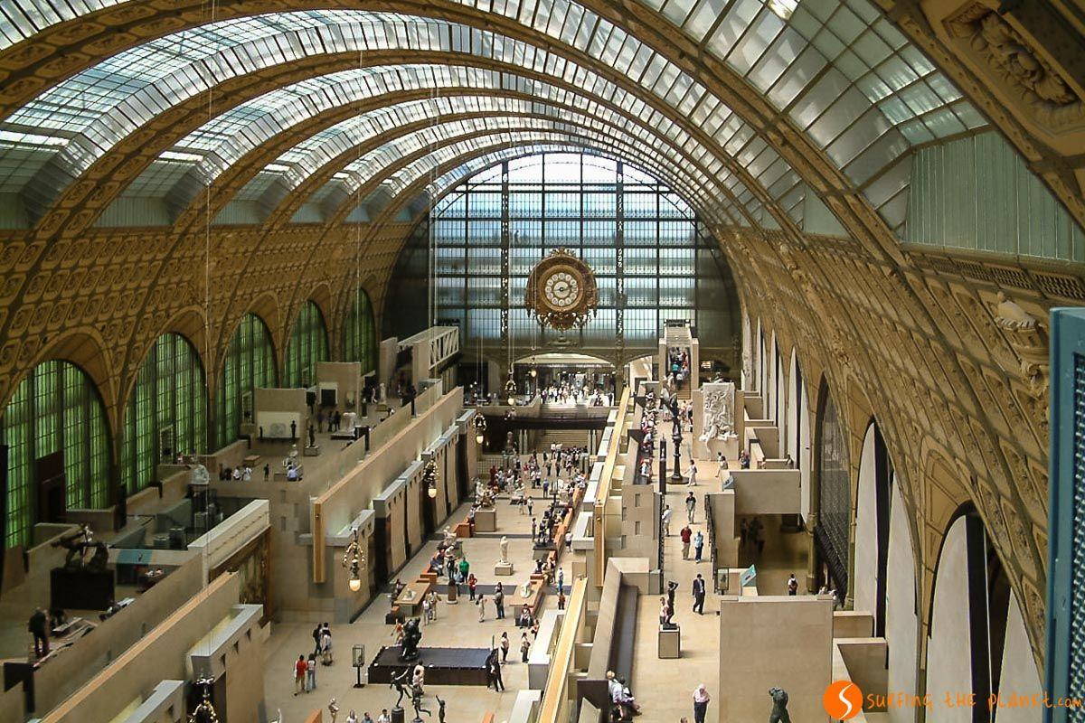 Sala de Museo de Orsay, París, Francia | Los museos de París