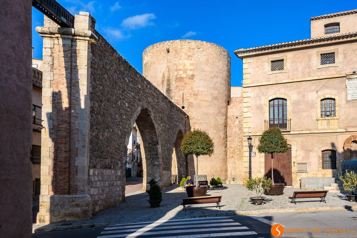 Acueducto, Segorbe, Provincia de Castellón, Comunidad Valenciana, España