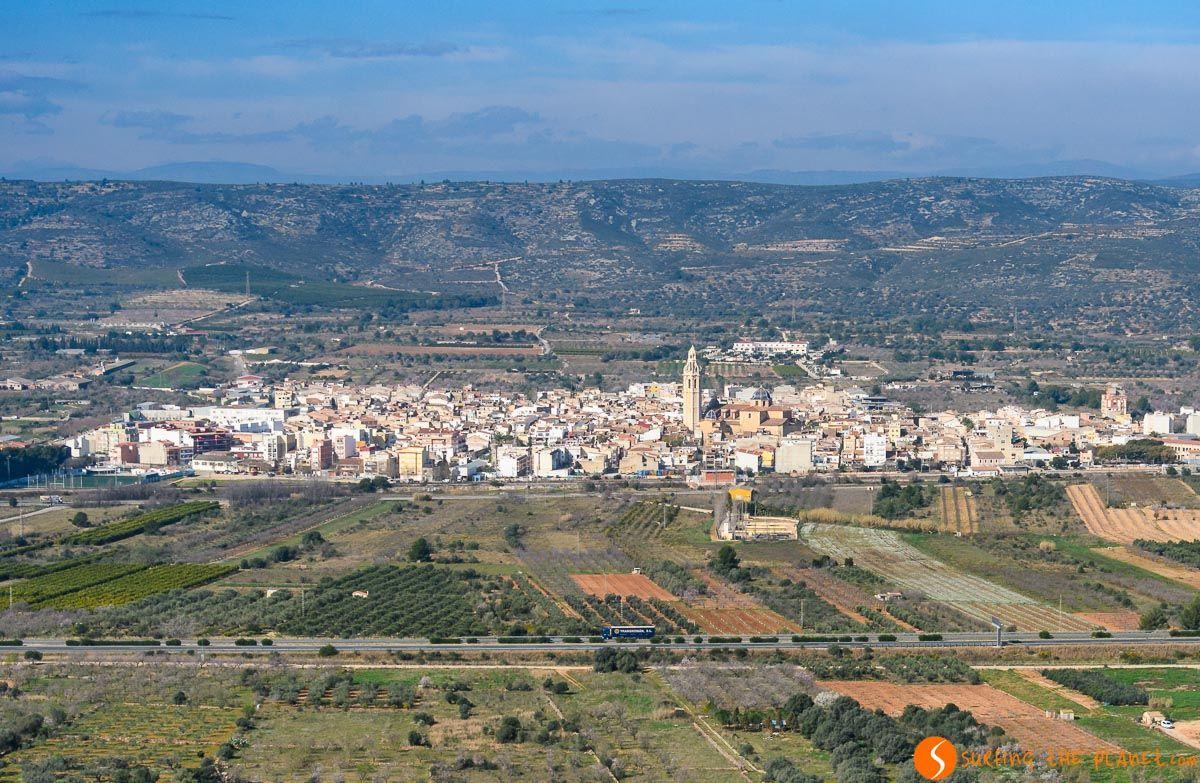 Vista de Alcalá de Chivert, Provincia de Castellón, Comunidad Valenciana, España