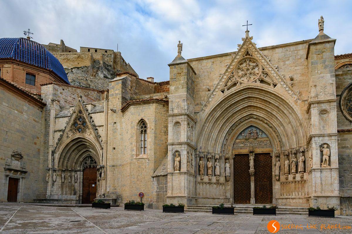 Basílica Santa María, Morella, Provincia de Castellón, Comunidad Valenciana, España