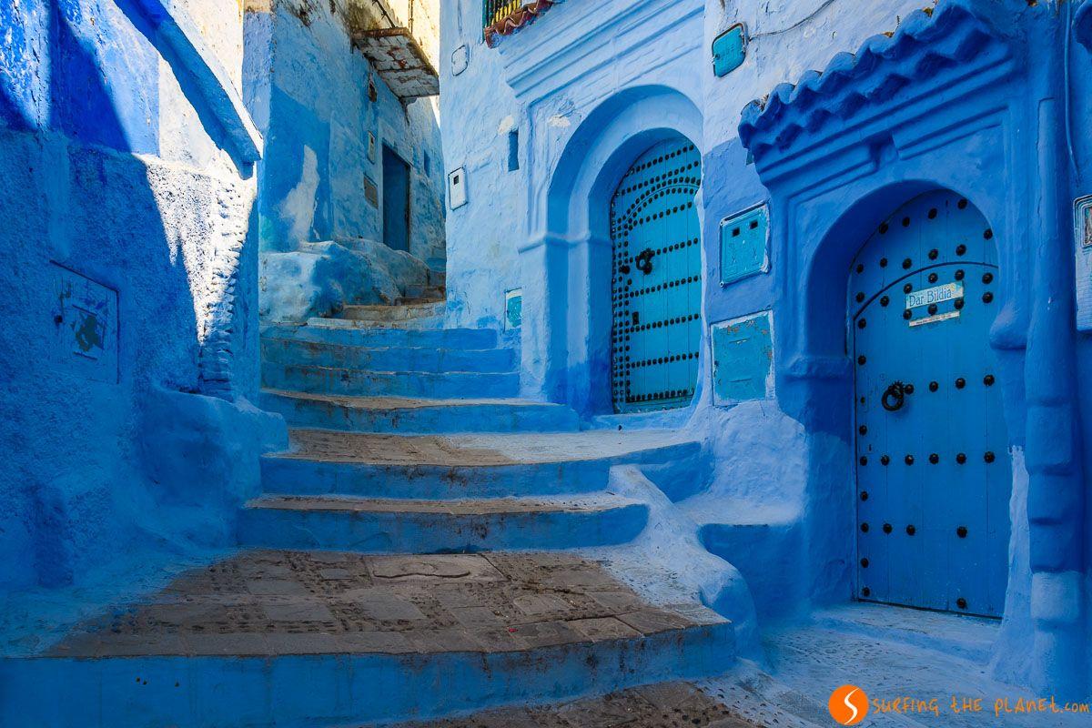 Calle azul, Chefchaouen, Marruecos | 5 excursiones desde Fez