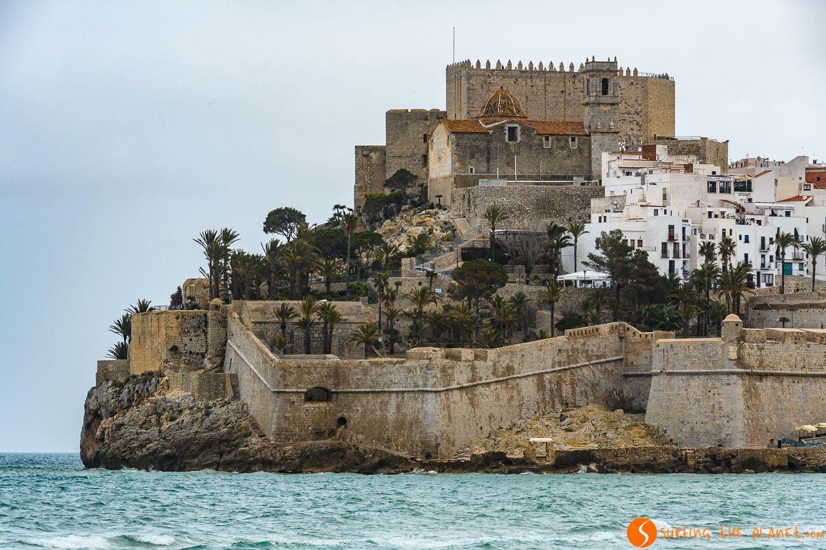 Castillo, Peñíscola, Provincia de Castellón, Comunidad Valenciana, España