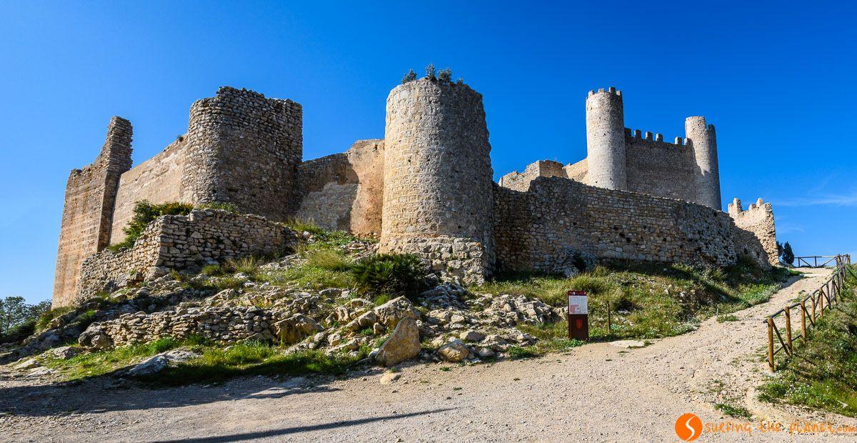 Exterior del Castillo de Xivert, Provincia de Castellón, Comunidad Valenciana | Los 20 castillos más importantes de Castellón