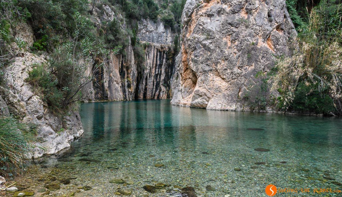 Fuente de los Baños, Montanejos, Provincia de Castellón, Comunidad Valenciana, España
