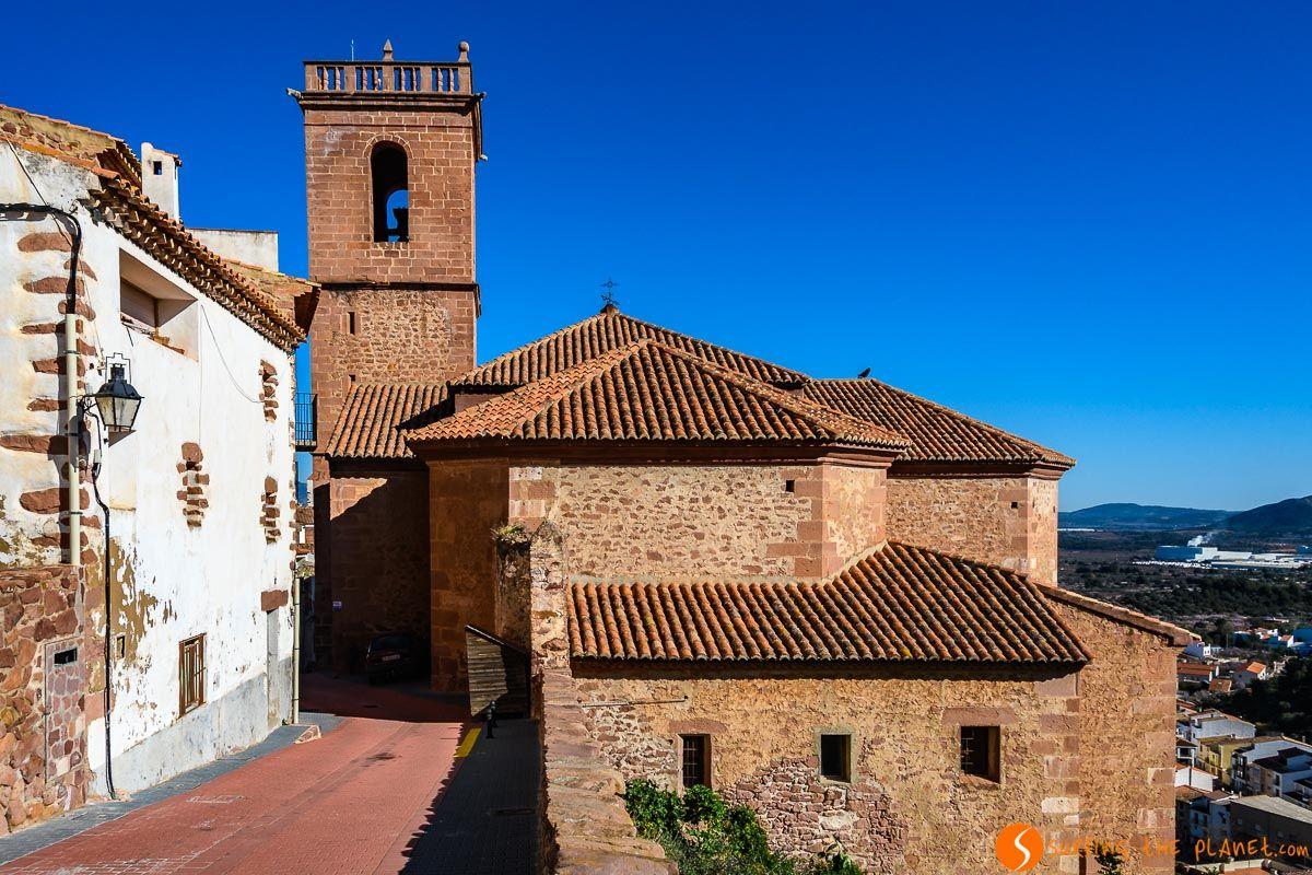 Iglesia de la Asunción, Vilafamés, Provincia de Castellón, Comunidad Valenciana, España