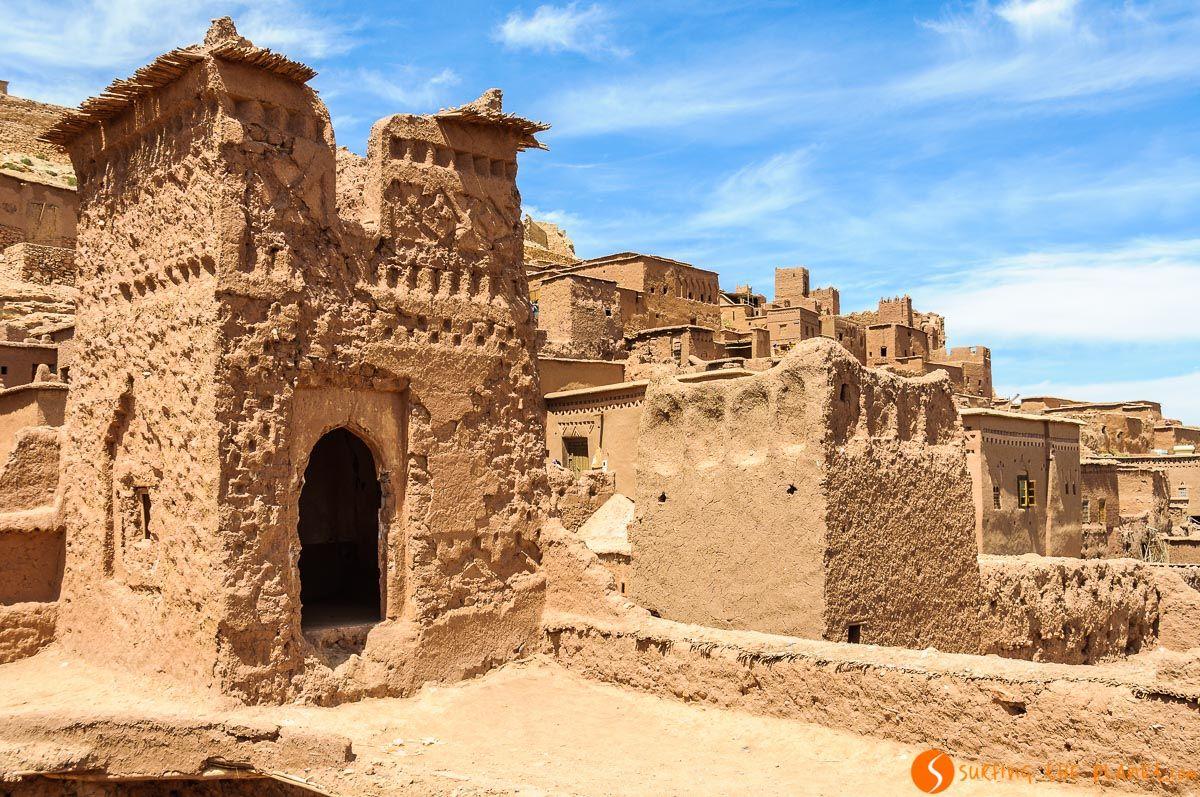 Interior Ait Ben Haddou, Marruecos