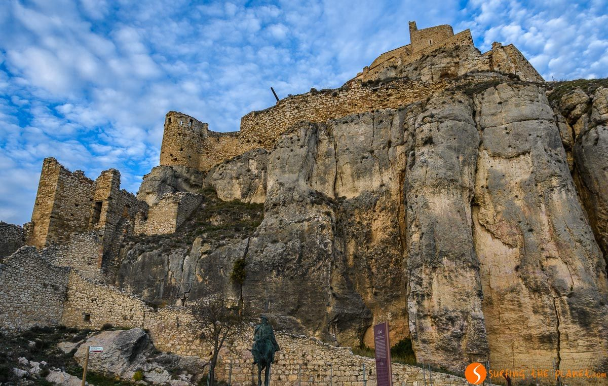 Interior del Castillo de Morella, Provincia de Castellón, Comunidad Valenciana