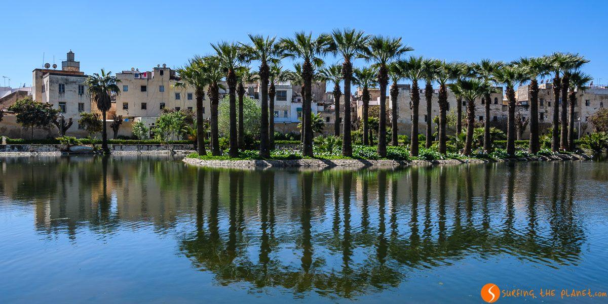 Parque Jnan Sbil, Fez, Marruecos