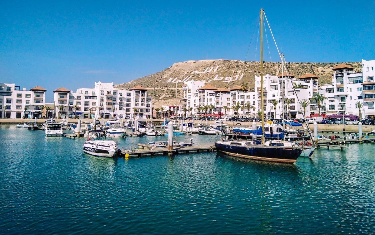 Marina, Agadir, Marruecos