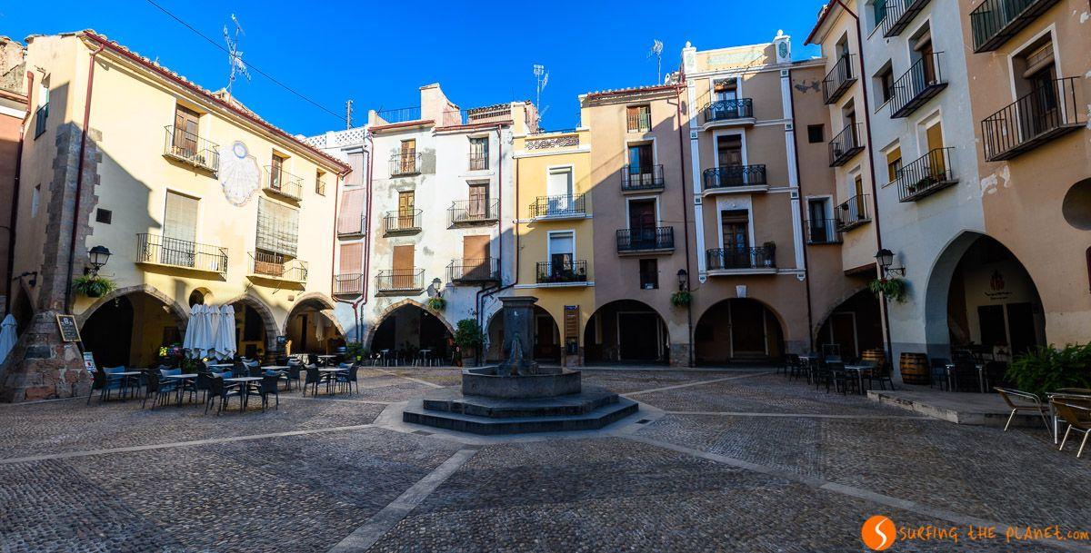 Plaza Almudín, Onda, Provincia de Castellón, Comunidad Valenciana, España