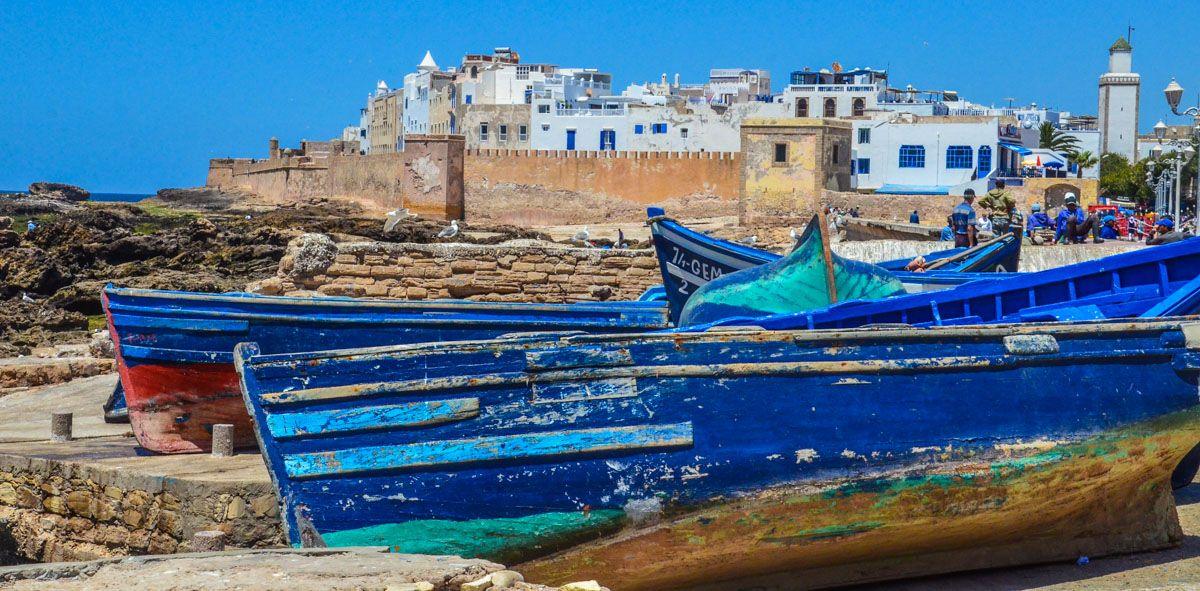 Puerto, Essaouira, Marruecos