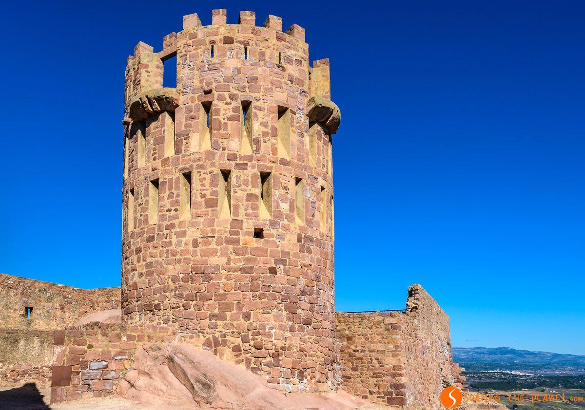 Torre Circular, Castillo de Vilafamés, Provincia de Castellón, Comunidad Valenciana