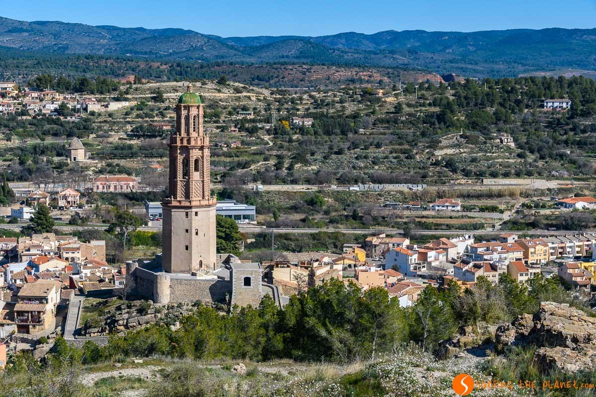 Torre Mudéjar, Jérica, Provincia de Castellón, Comunidad Valenciana, España | Los 20 castillos más bonitos de Castellón