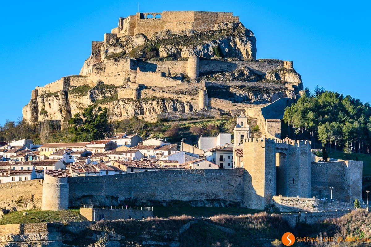 Vistas exteriores, Castillo de Morella, Provincia de Castellón, Comunidad Valenciana | Los castillos más bonitos de Castellón