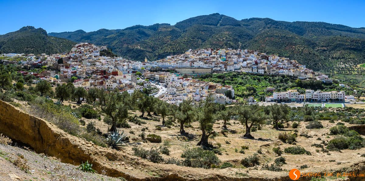 Vistas panorámicas, Mulay Idrís, Marruecos | 5 excursiones cerca de Fez