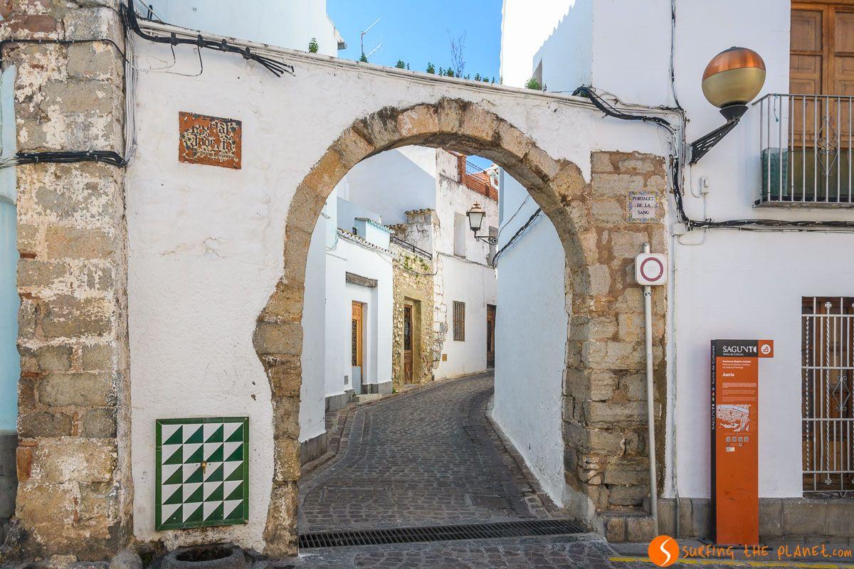 Barrio judío, Sagunto, Provincia de Valencia, Comunidad Valenciana