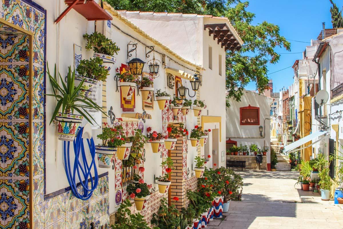 Barrio de Santa Cruz, Alicante Capital, Provincia de Alicante, Comunidad Valenciana