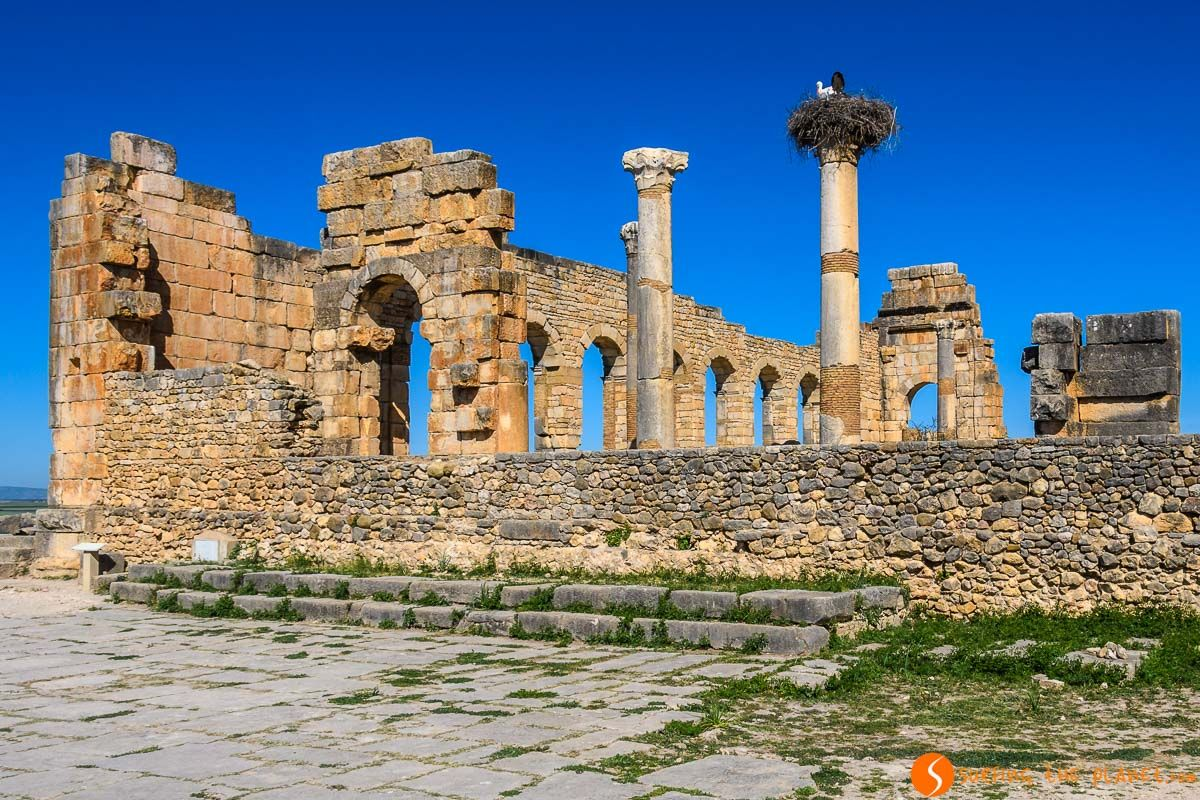 Basílica, Volubilis, Marruecos