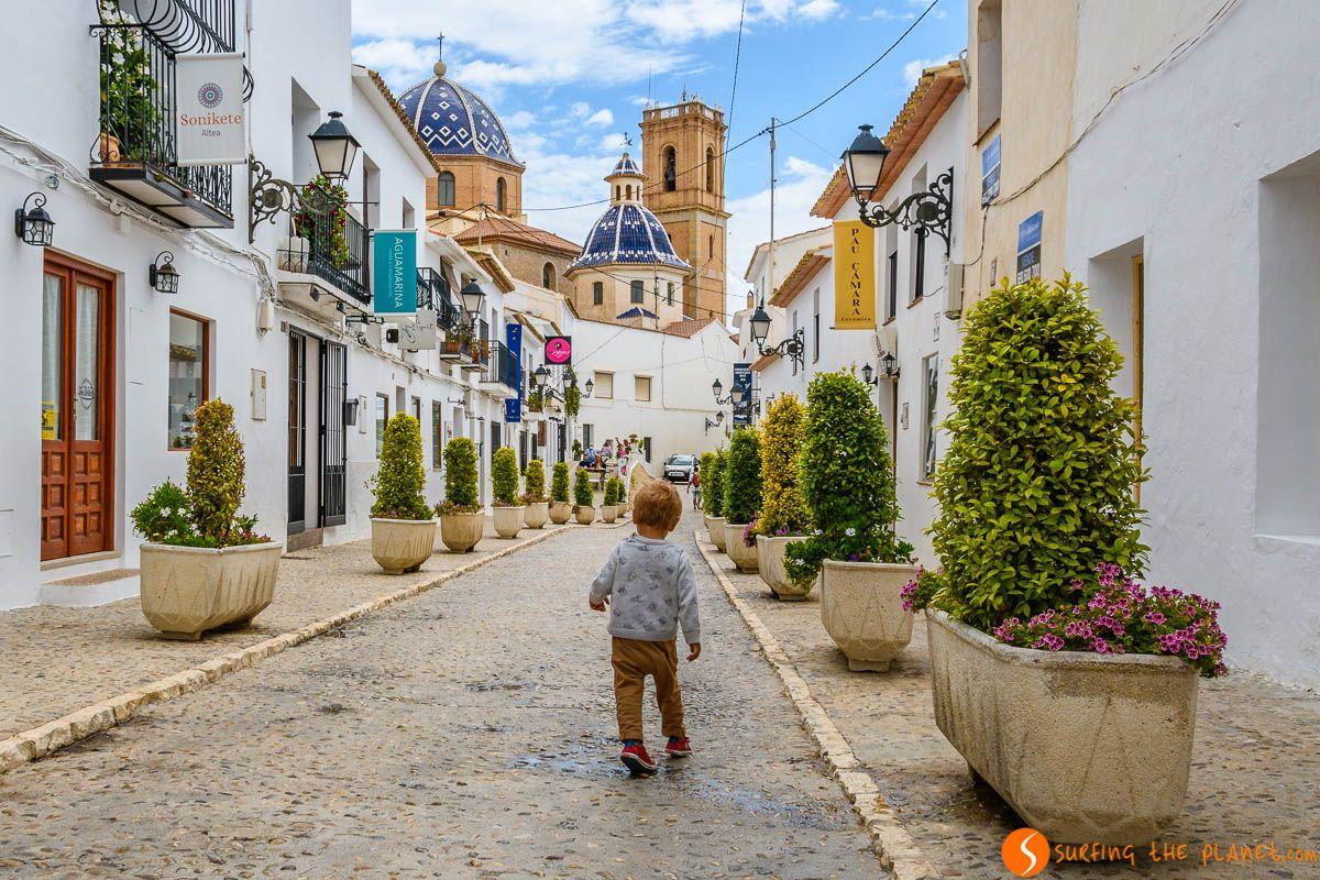 Casco antiguo, Altea, Alicante, Comunidad Valenciana | Pueblos bonitos de Alicante
