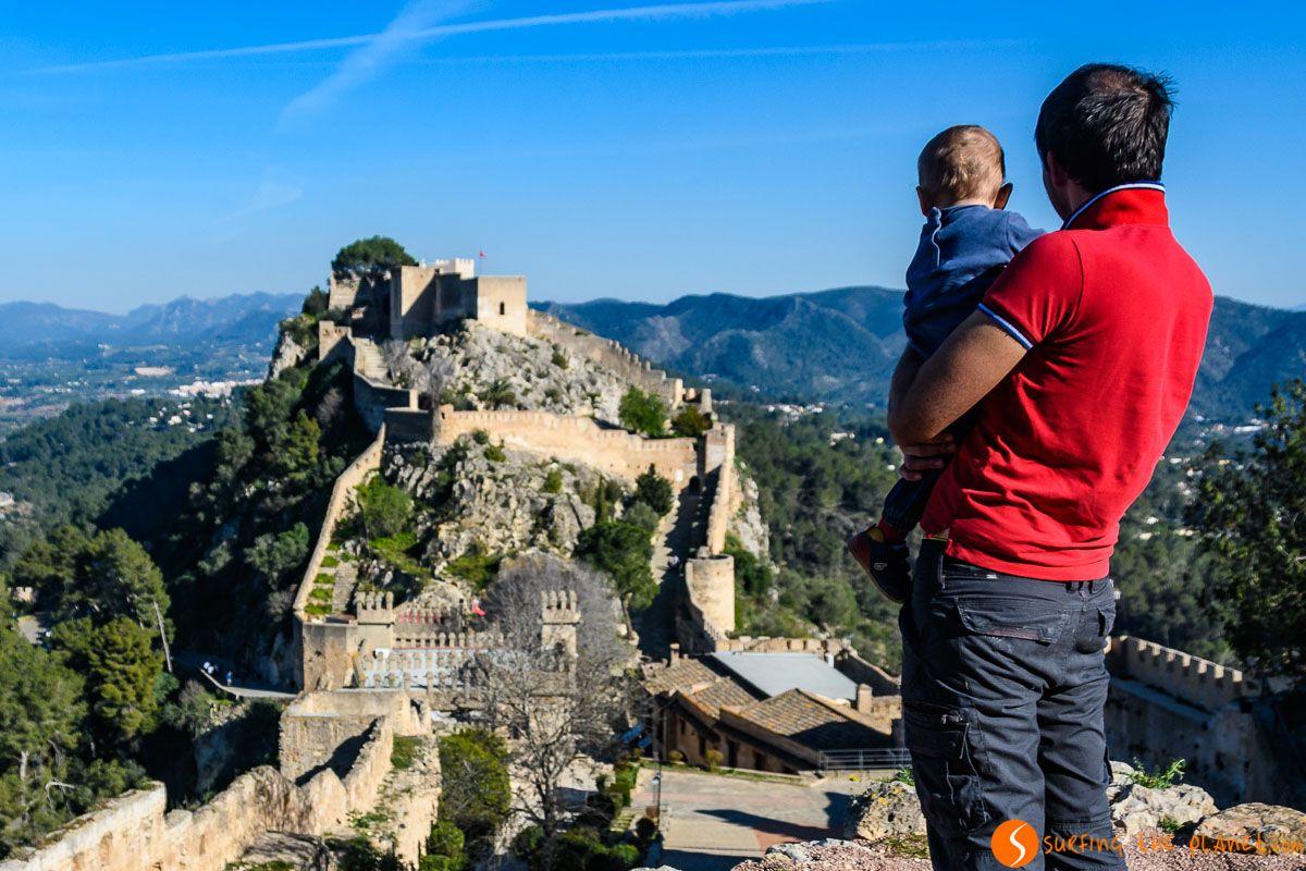 Castillo Menor, Xátiva, Provincia de Valencia, Comunidad Valenciana | Qué visitar en la Provincia de Valencia