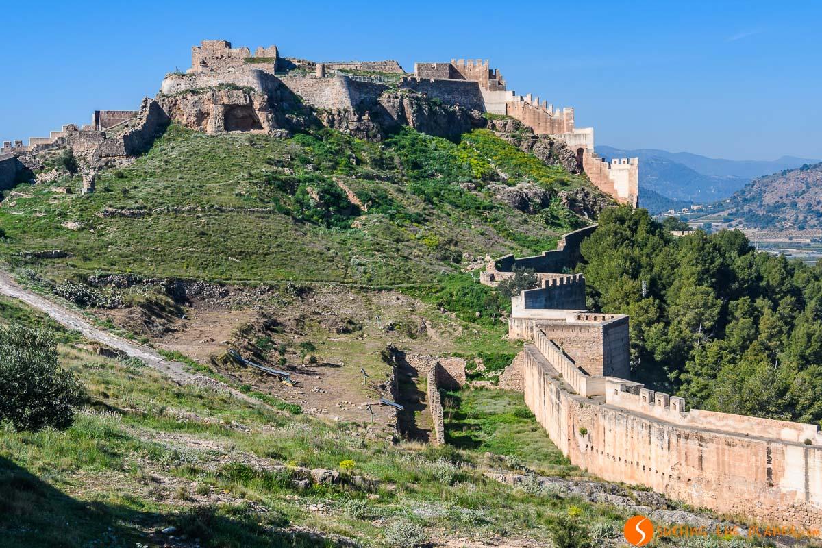 Castillo de Sagunto, Provincia de Valencia, Comunidad Valenciana