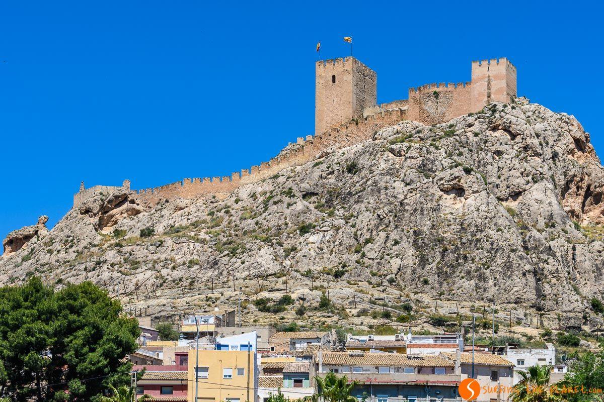 Castillo de Sax, Alicante, Comunidad Valenciana