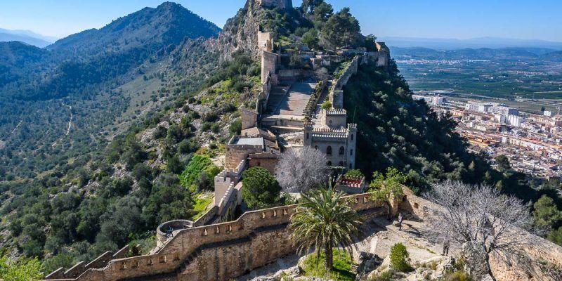 Castillo de Xàtiva, Provincia de Valencia, Comunidad Valenciana