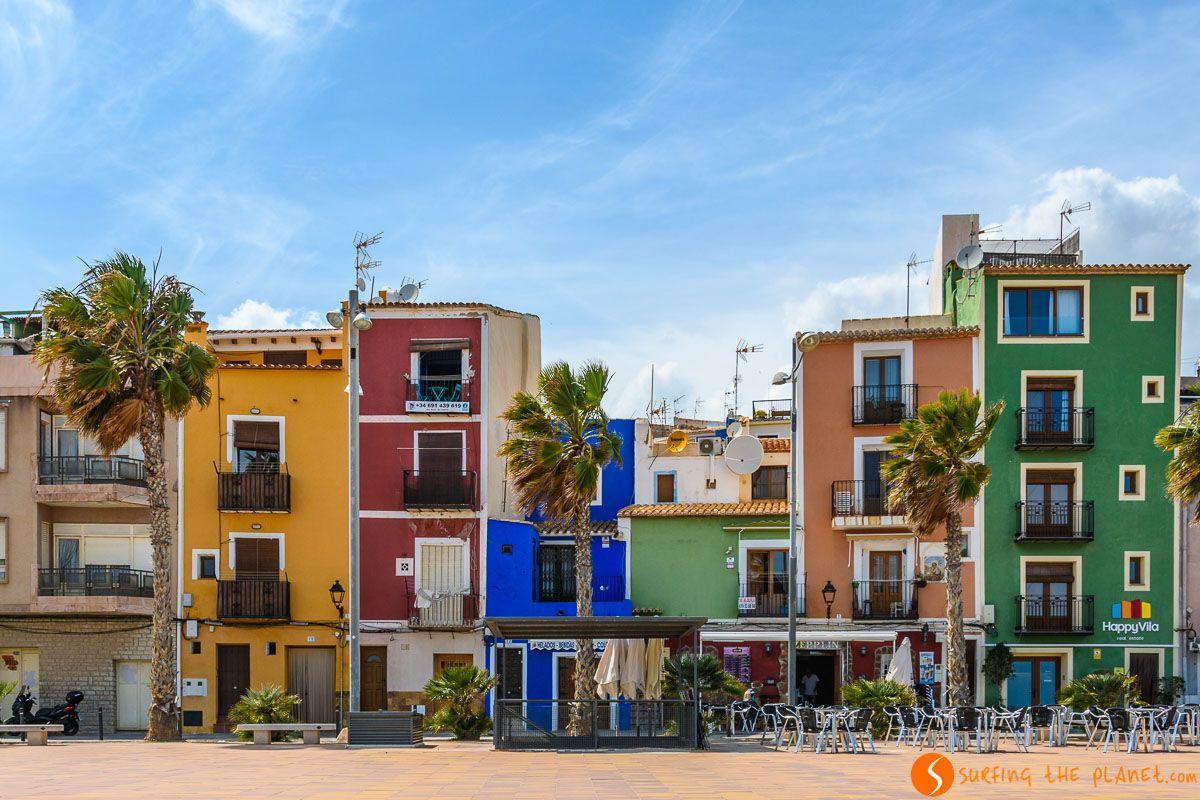 Paseo Marítimo, Villajoyosa, Alicante |Qué hacer en la Comunidad Valenciana