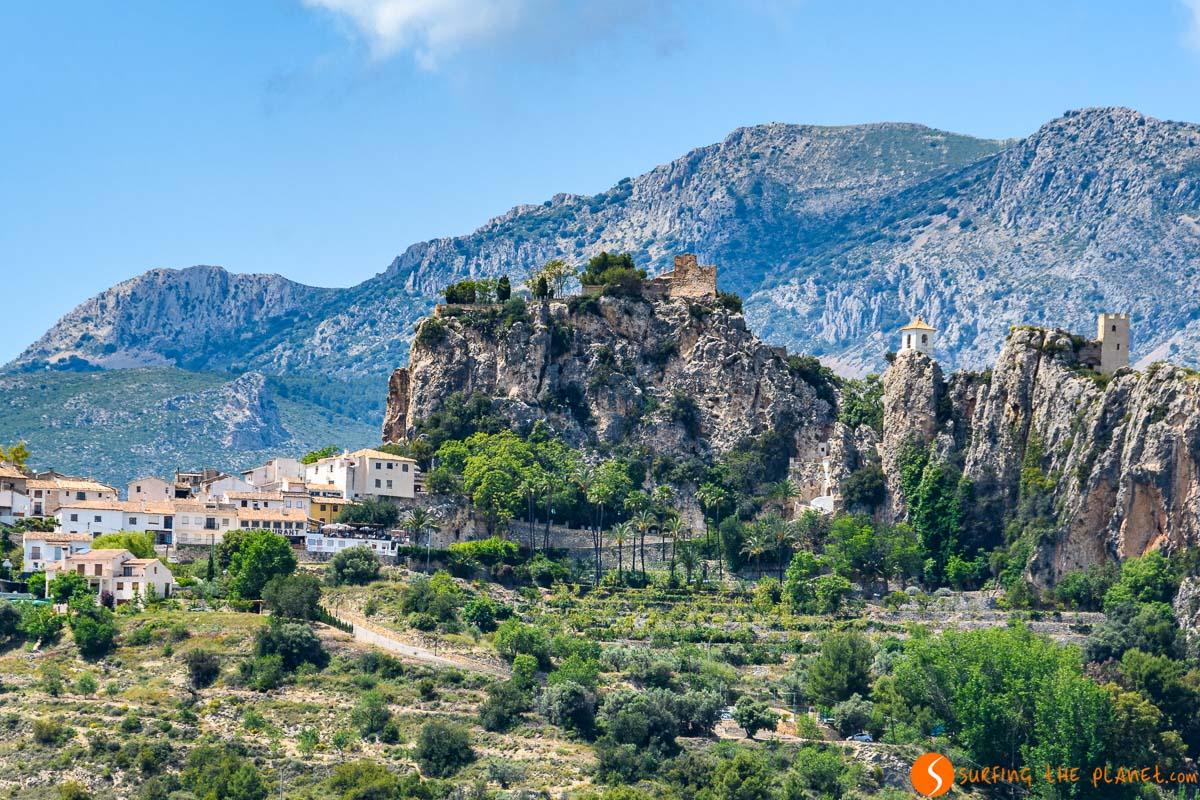 El Castell de Guadalest, Alicante, Comunidad Valenciana