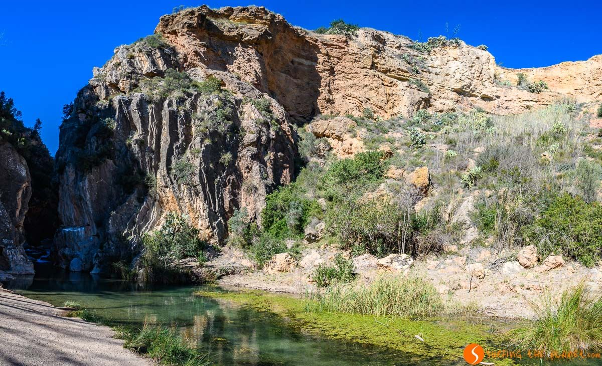 Playeta, Ruta del Agua, Chelva, Provincia de Valencia, Comunidad Valenciana