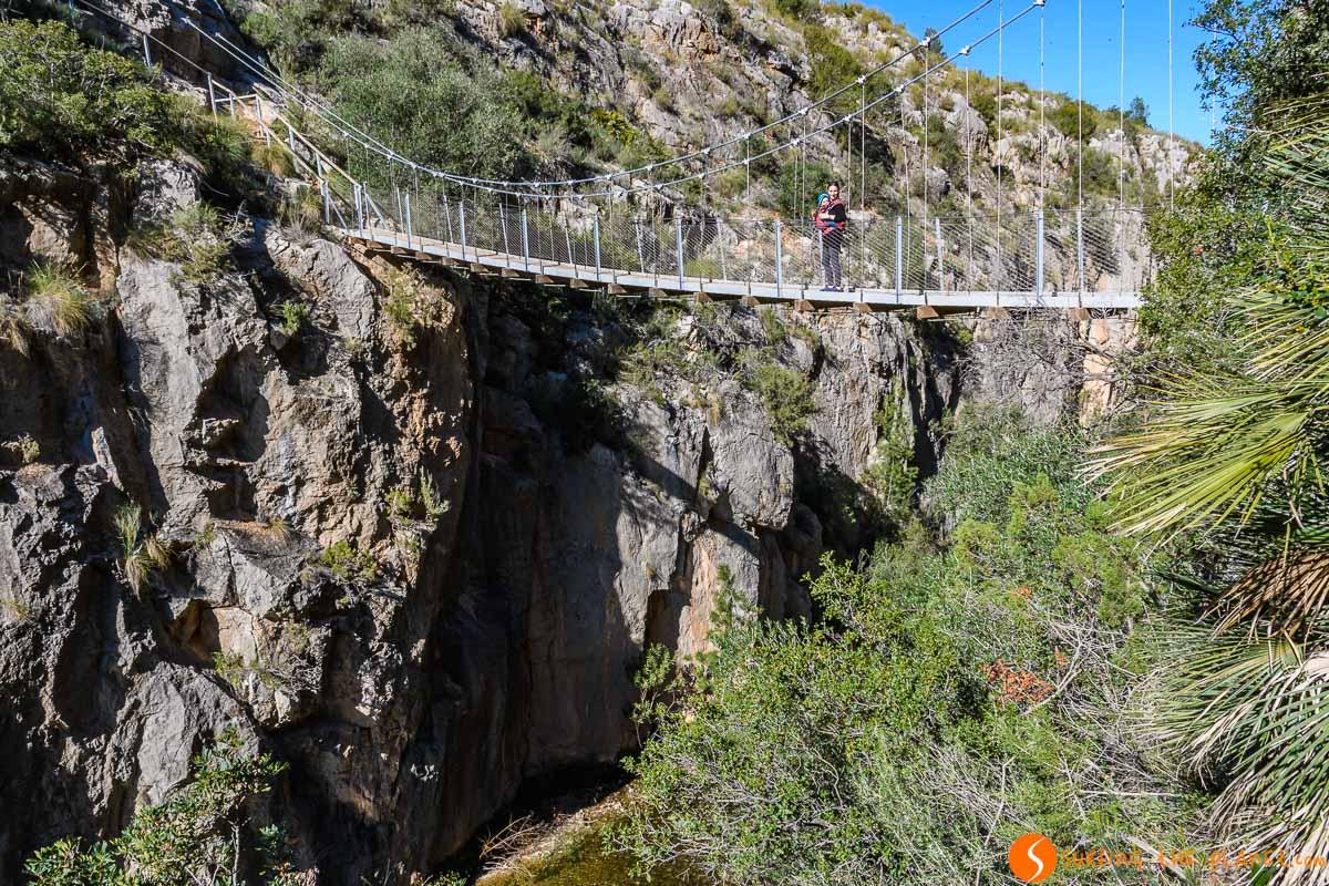 Ruta de los Puentes Colgantes, Chulilla, Provincia de Valencia, Comunidad Valenciana