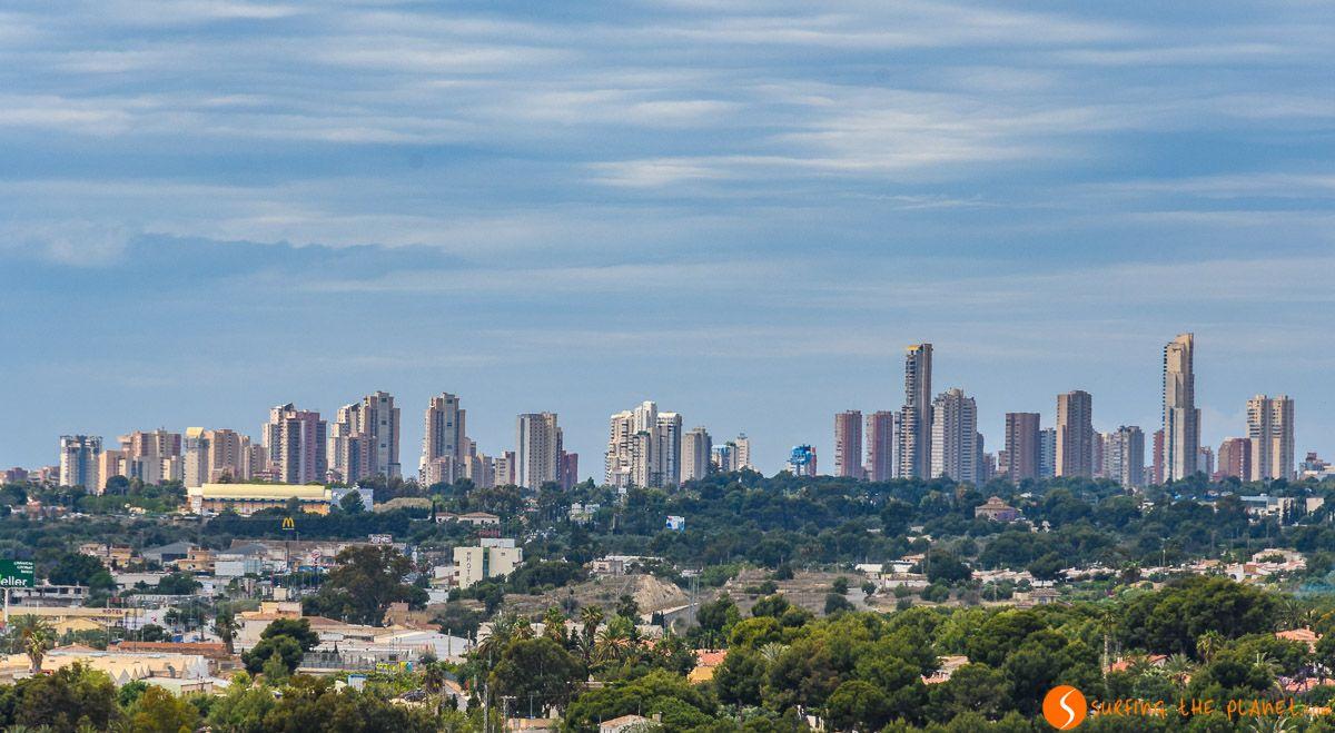 Skyline, Benidorm, Alicante, Comunidad Valenciana |Qué visitar en Alicante Provincia