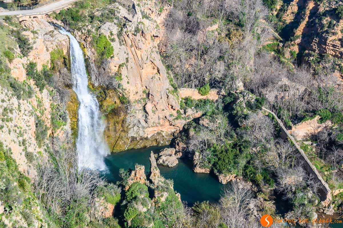Vistas panorámicas, Salto de Chella, Provincia de Valencia, Comunidad Valenciana