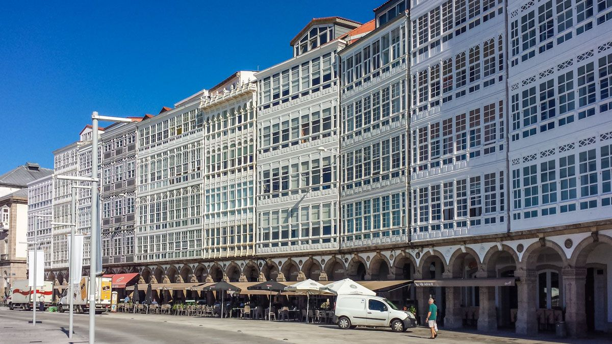 Avenida Marina, A Coruña, Galicia   Qué hacer en la Provincia de A Coruña