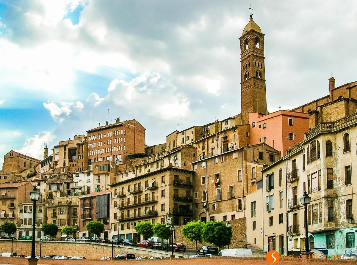 Casas colgantes, Tarazona, Zaragoza, Aragón |Qué ver en la Provincia de Zaragoza