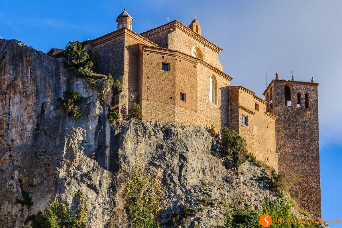 Castillo Colegiata, Alquézar, Huesca, Aragón