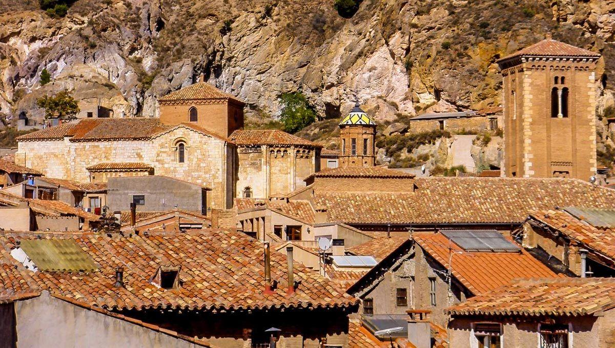 Casco antiguo, Daroca, Zaragoza, Aragón