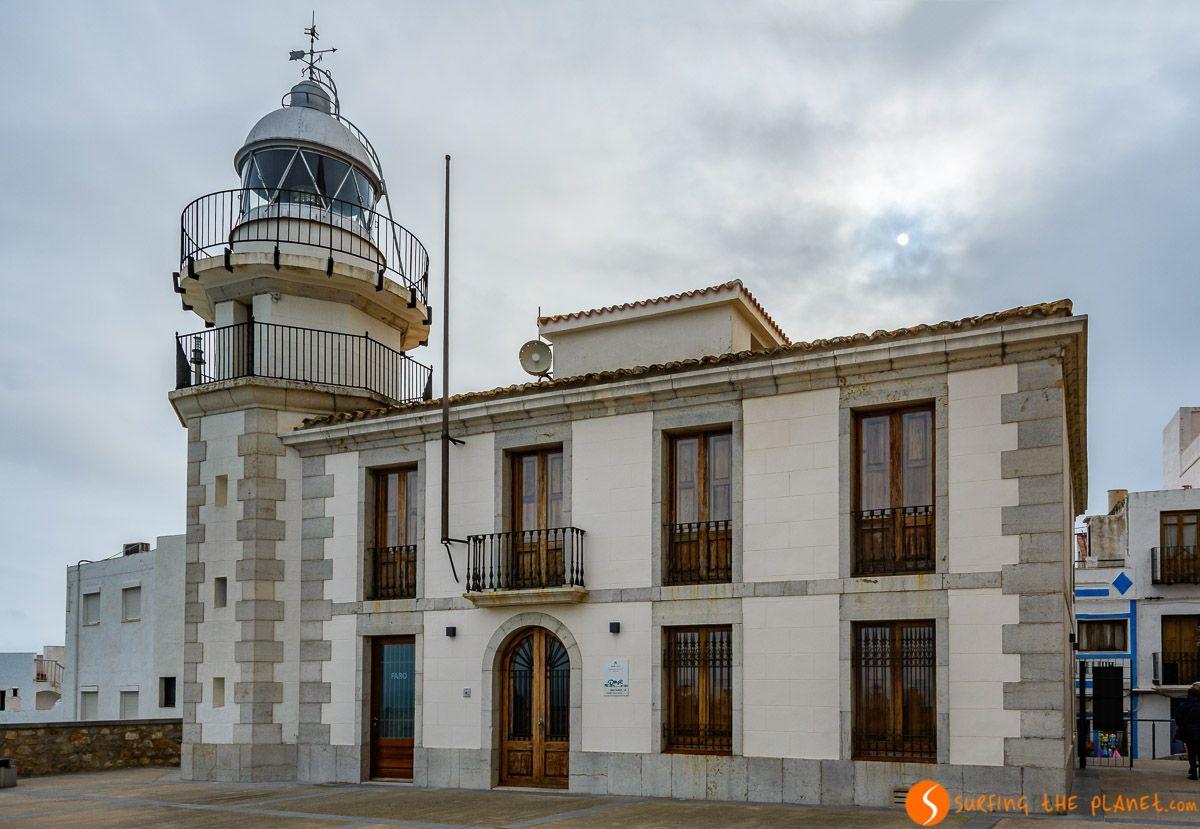 Faro de Peñíscola, Castellón | Qué visitar en la Comunidad Valenciana