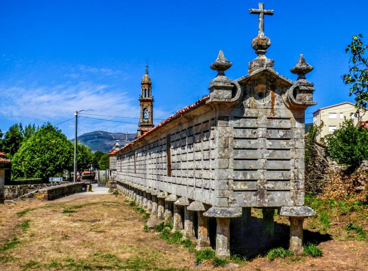 Horreón antiguo, Carnota, A Coruña, Galicia