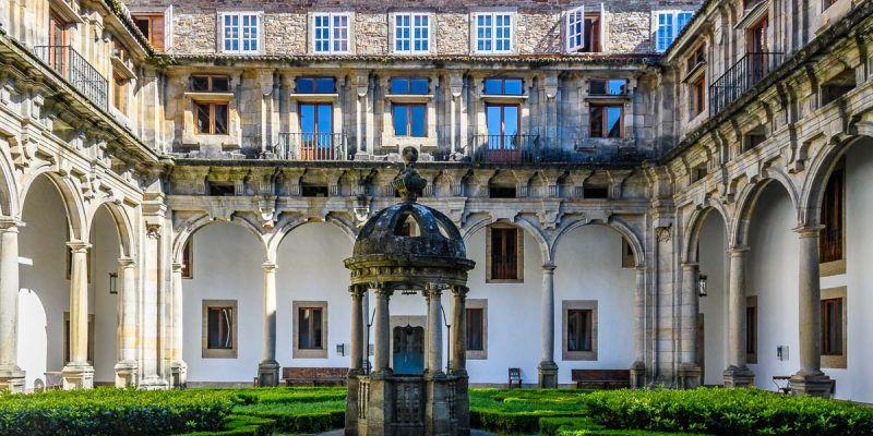 Hostal de los Reyes Católicos, Santiago de Compostela, A Coruña, Galicia