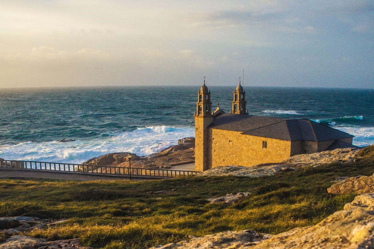 Santuario de Nosa Señora da Barca, Muxía, A Coruña, Galicia
