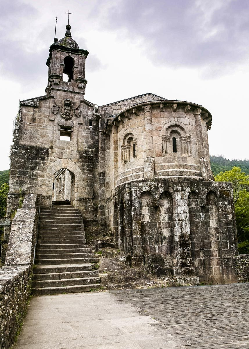 Monasterio de Caaveiro, A Coruña, Galicia