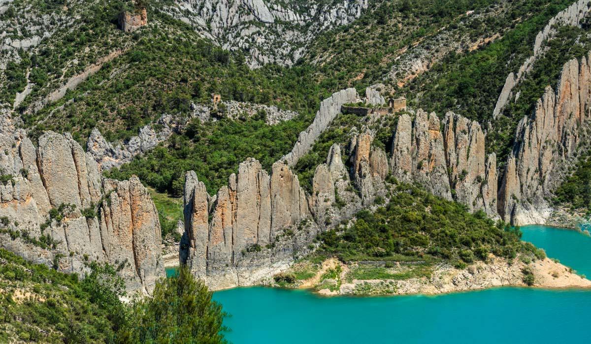 Muralla China, Finestres, Huesca, Aragón