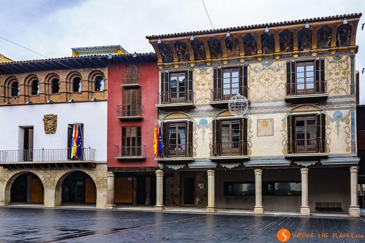 Plaza Mayor, Graus, Huesca, Aragón | Pueblos con encanto de Huesca