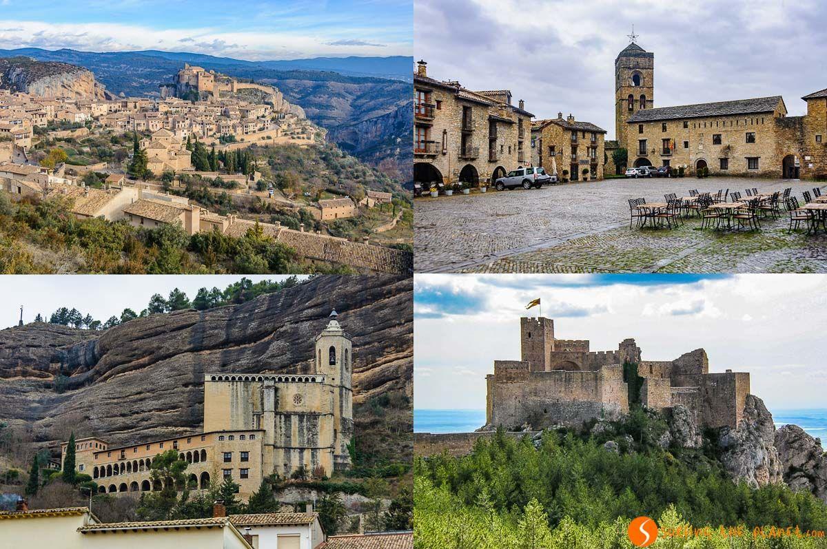 Pueblos bonitos y con encanto en la Provincia de Huesca, Aragón, España