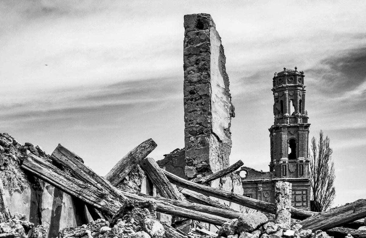Ruinas de Belchite Viejo, Zaragoza, Aragón |Qué hacer en la Provincia de Zaragoza