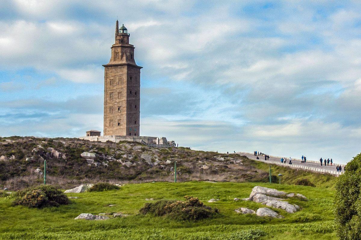 Torre de Hércules, A Coruña, Galicia