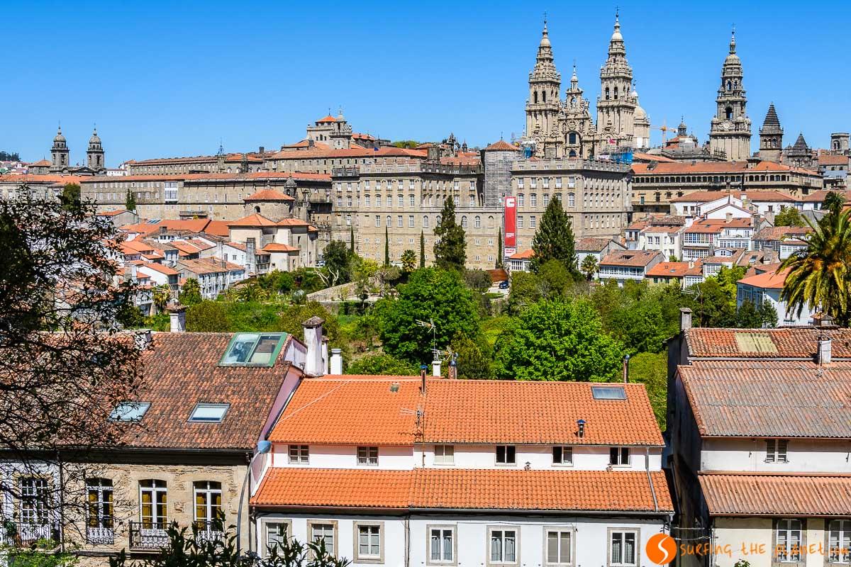 Vistas del centro, Santiago de Compostela, A Coruña, Galicia